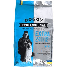 Torrfoder Doggy Professional Extra, 12 kg, 4003474