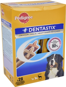 Tuggpinnar Pedigree Denta Stix Large, +25 kg 28-pack (28x38,6 g), 4004581