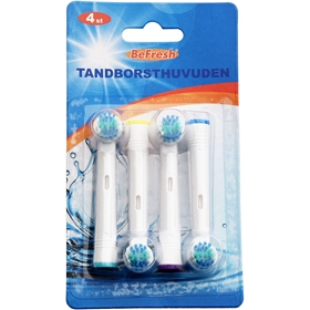 Tandborsthuvud Be Fresh Refill, 4-pack, 5003314