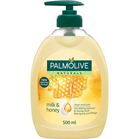 Tvål Palmolive Naturals Nourishing Milk & Honey, 500 ml, 3602932