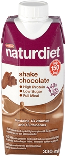 Kostersättning Naturdiet, Shake Chocolate VLCD 150 kcal 330 ml, 4002504