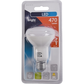 LED-lampa E27 Bright, 6W spot 470 lm, 5000194