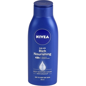 Body Milk Nivea Rich Nourishing, 400 ml, 3600078