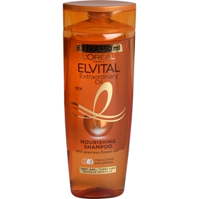 Schampo L'Oréal Paris Elvital Extraordinary Oil, 300 ml, 3608289