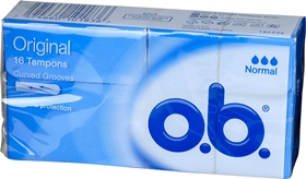 Tamponger o.b., Normal 16-pack, 3600296