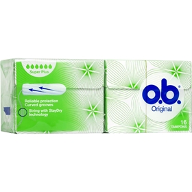 Tamponger o.b. Super Plus, 16-pack, 3603616
