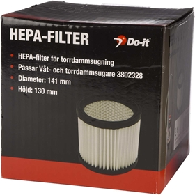 HEPA-filter Do-it, till våt- & torrdammsugare 3802328, 3802331