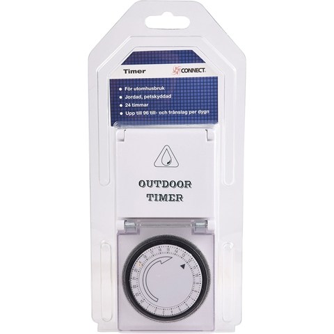 Timer Connect, utomhus 24h, 3502625