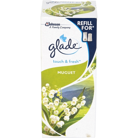 Luftfräschare Glade Touch & Fresh Muguet, refill 10 ml, 3608652