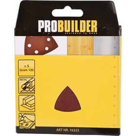 Slippapper till multimaskin ProBuilder, 100 5-pack, 3804765
