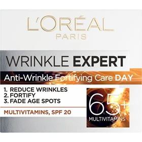 Ansiktscreme L'Oréal Paris Wrinkle Expert Antiwrinkle Fortifying Care Day +65, 50 ml, 3609436