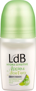 Deo roll-on LdB Hydra Sensitive Apple & Aloe Vera, 50 ml, 3604166