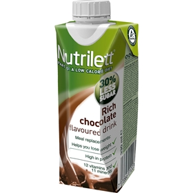 Måltidsersättning Nutrilett Rich Chocolate Flavoured Drink, 330 ml, 3606052