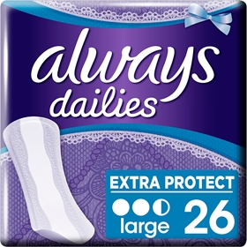 Trosskydd Always Large, 26-pack, 3608367