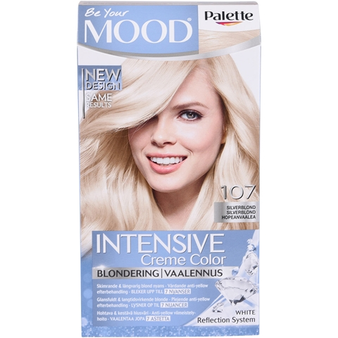 Blondering Palette Mood 107 Silverblond, 120 ml, 3602403