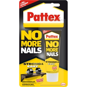 Monteringslim Pattex No More Nails, 40 ml, 1804377