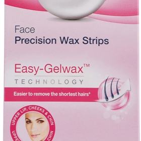 Ansiktsvaxremsor Veet Face Precision Wax Strips, 20-pack, 3607829