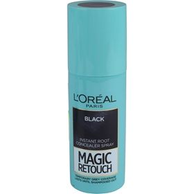 Färgspray L'Oréal Paris Magic Retouch Instant Root Concealer Hair Spray Black, 75 ml, 3608269