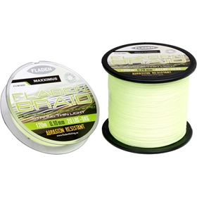 Flätlina Fladen Fishing Maxximus PE Braid Yellow, 0,10mm 120m 20lbs 9kg, 3002669