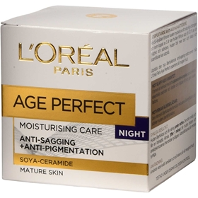 Nattcreme L'Oréal Paris Age Perfect, 50 ml, 3608754