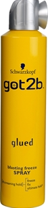 Hårspray Schwarzkopf got2b Glued Blasting Freeze Spray, 300 ml, 3605390