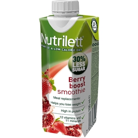 Måltidsersättning Nutrilett Berry Boost Smoothie, 330 ml, 3606051