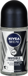 Deo roll-on Nivea For Men Black & White Power, 50 ml, 3603636