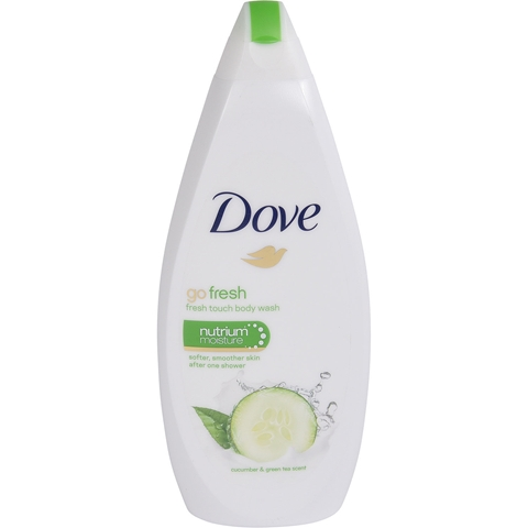 Duschcreme Dove Go Fresh Fresh Touch Cucumber & Green Tea, 750 ml, 3606930