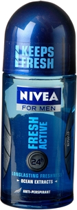 Deo roll-on Nivea For Men, Fresh Active 50 ml, 3601506