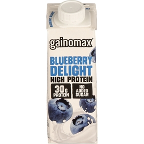 Proteindryck Gainomax Blueberry Delight, 250 ml, 3609249