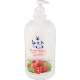 Duschcreme Family Fresh Creamy Berry, 1,101 kg, 3606706