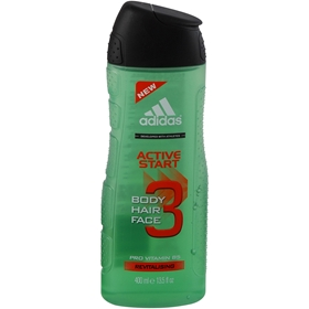 Duschgel Adidas Active Start, 400 ml, 3604116