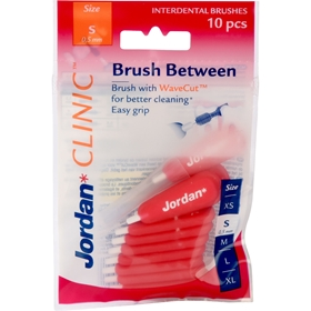 Mellanrumsborste Jordan Clinic Brush Between Small, 10-pack, 3608522