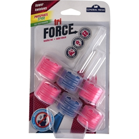 WC-block General Fresh Tri-Force Flower, 2-pack (2x45 g), 3608013