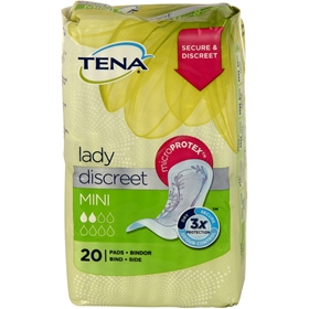 Bindor Tena Lady Mini, 20-pack, 3603037