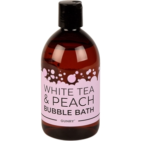 Bubbelbad Gunry White Tea & Peach, 500 ml, 3608770