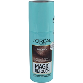 Färgspray L'Oréal Paris Magic Retouch Instant Root Concealer Hair Spray Brown, 75 ml, 3608271