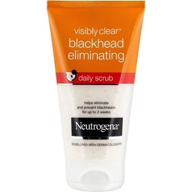 Ansiktsskrubb Neutrogena Visibly Clear Blackhead Eliminating Daily Scrub, 150 ml, 1601044