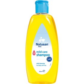 Schampo Natusan Baby Mild Care, 200 ml, 3603177