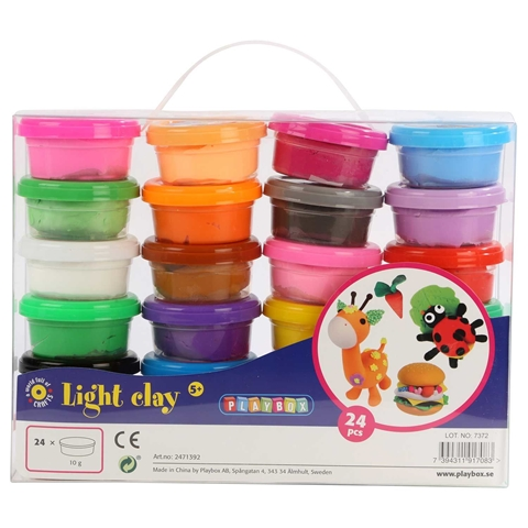 Modellera Playbox Light, 24-pack (24x10 g), 3111957