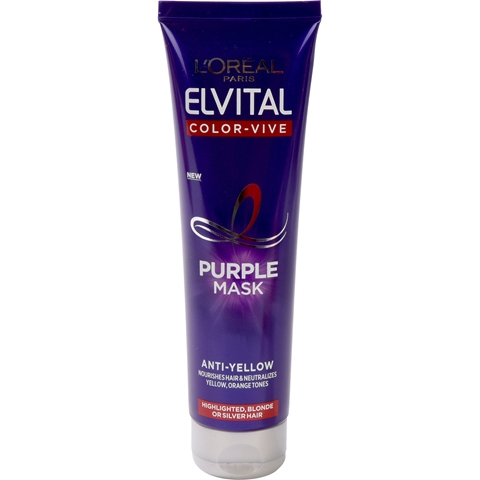 Hårinpackning L'Oréal Paris Elvital Color Vive Silver, 150 ml, 3608703