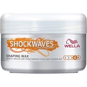 Hårvax Wella Shockwaves Clean Cut, 75 ml, 3607563