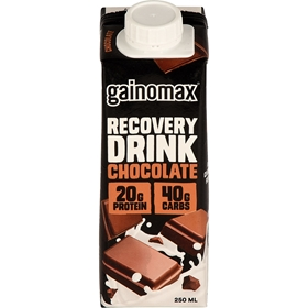 Återhämtningsdryck Gainomax Chocolate, 250 ml, 3609246