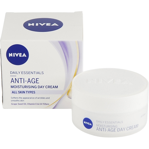Dagcreme Nivea Daily Essentials Anti-Age Moisturizing Day Cream, 50 ml, 3607782