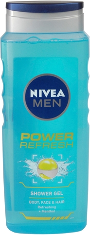 Duschgel Nivea For Men Power Refresh, 500 ml, 1601498