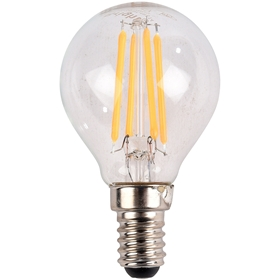 LED-lampa E14 Bright, 4W filament klot 470 lm, 5000212