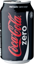 Läsk Coca Cola, Zero 330 ml, 2002546