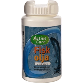 Fiskolja Active Care 1000 Mg + E-vitamin, 3606038