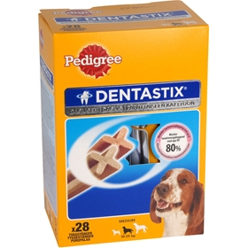 Tuggpinnar Pedigree Denta Stix Medium, 28-pack (28x25,7 g), 4002828