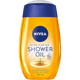 Duscholja Nivea Caring Shower Oil Natural, 200 ml, 3605892